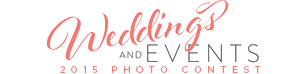 Weddings and Events Photo Contest