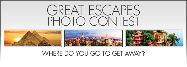 Great Escapes Photo Contest