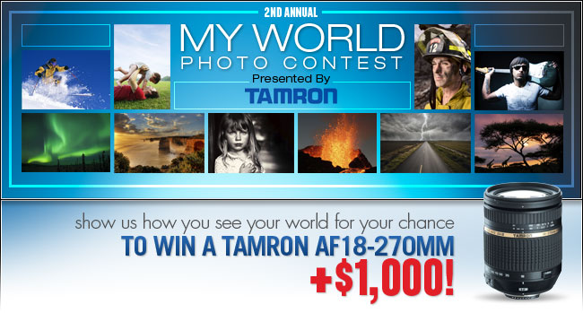 2nd Annual My World Photo Contest