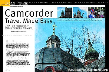 Camcorder Travel Made Easy