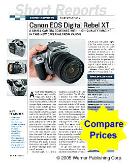 SR: Canon EOS Digital Rebel XT