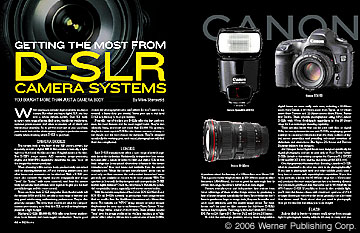 Getting The Most From D-SLR Cameras