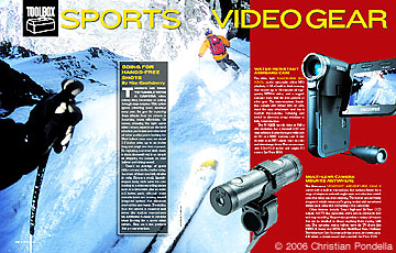 Toolbox: Sports Video Gear