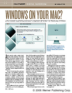 Digital Darkroom: Windows on your Mac?