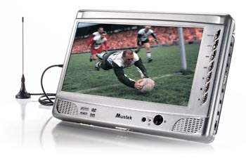 Mustek Portable DVD Player