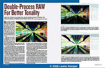 Double-Process RAW For Better Tonality