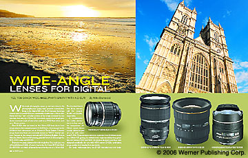 Wide Angle lenses For Digital