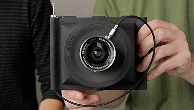 Amazingly Affordable 4x5 Camera