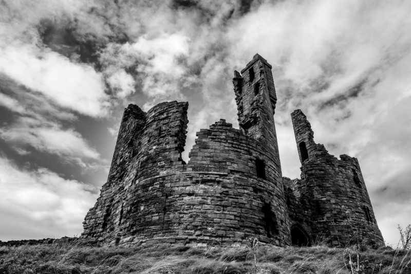 Dunstanburgh Castle Ruins, Northumberland