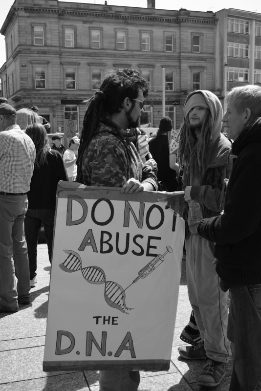 Monsanto Peaceful Demonstration Nottingham