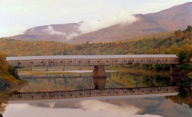 The Longest Wooden Covered Bridge In The U.s.a.