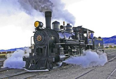 A Real Steam Train