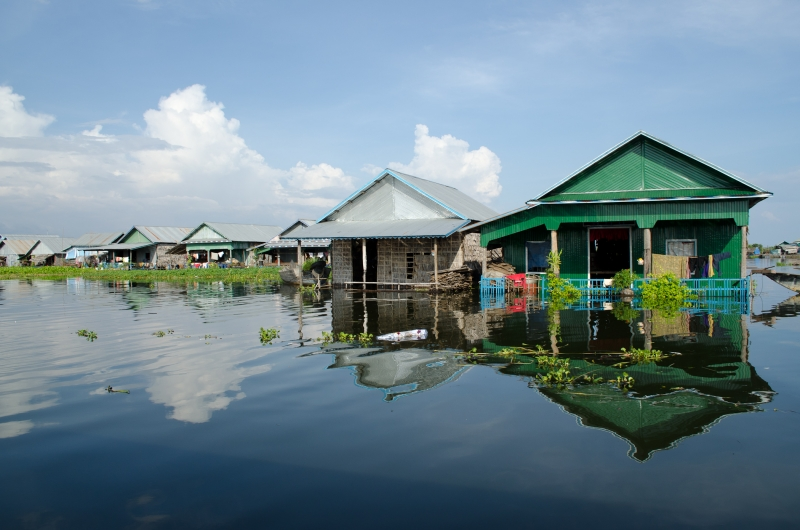 A Sunny Day At The Floating Village