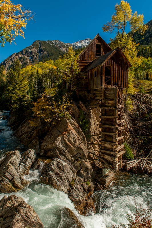 Aspen Splendor At Crystal Mill