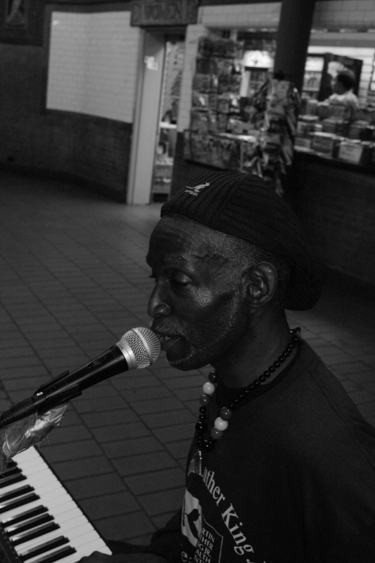 Astor Place Performer