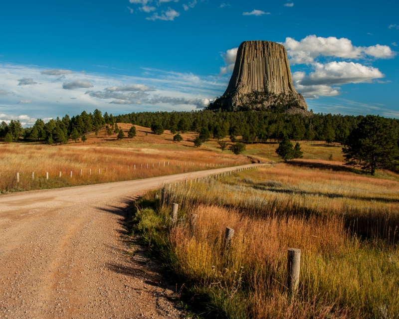 Autumn Journey To Devil's Tower