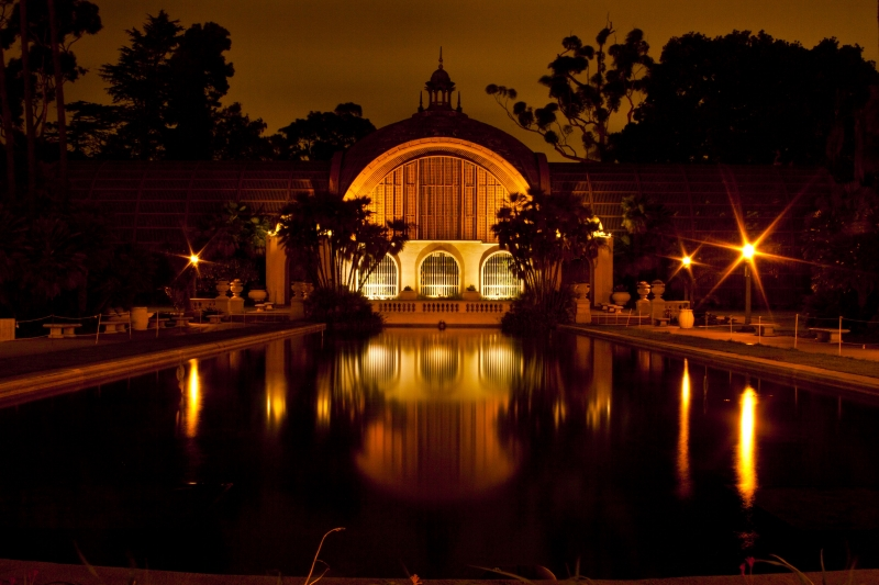 Balboa Park Beauty At Night