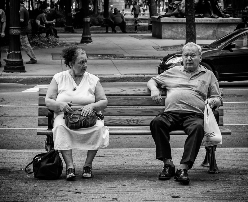 Bench Couple