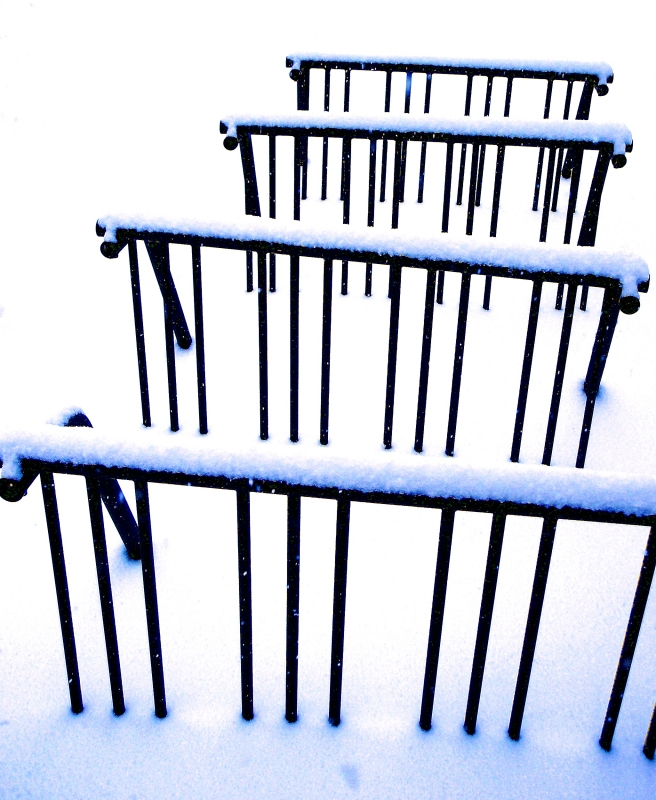 Bike Racks In Winter