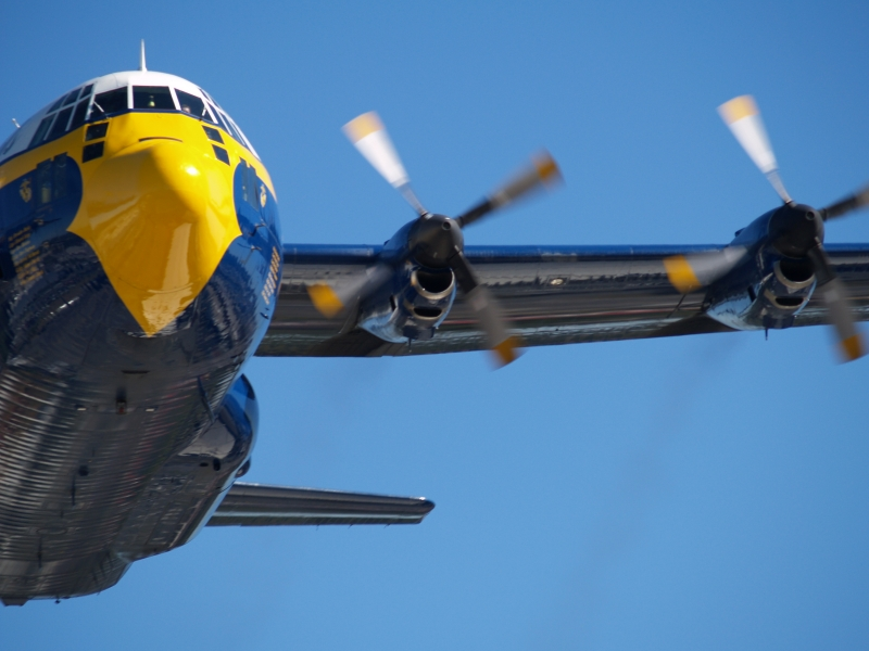 Blue Angels Fat Albert In Action