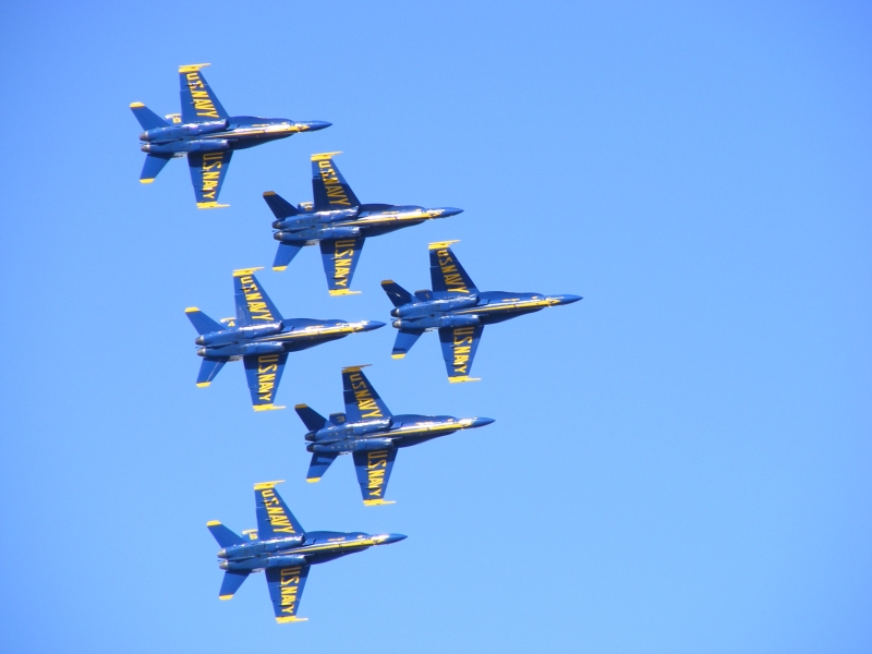 Blue Angels Over My House