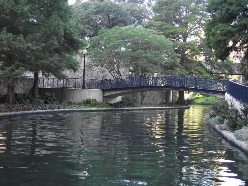 Bridge At San Antonio Riverwalk