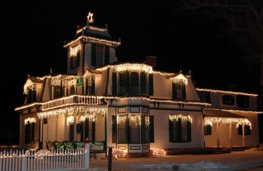 Buffalo Bill Cody House At Christmas