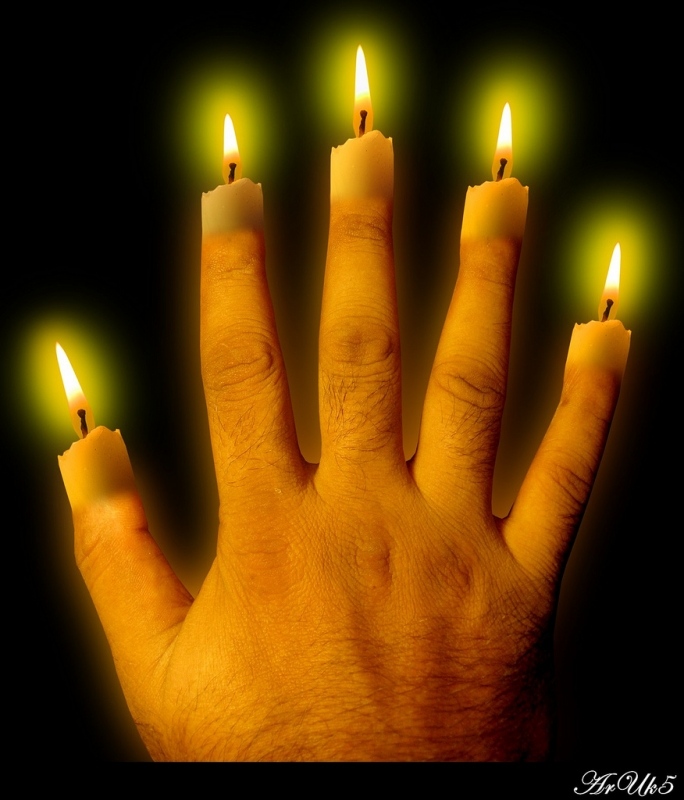 Candled Fingers