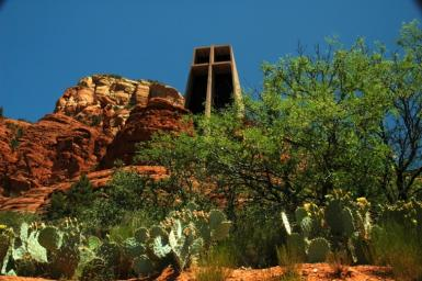 Catholic Church Built Right On Redrock Sodona!