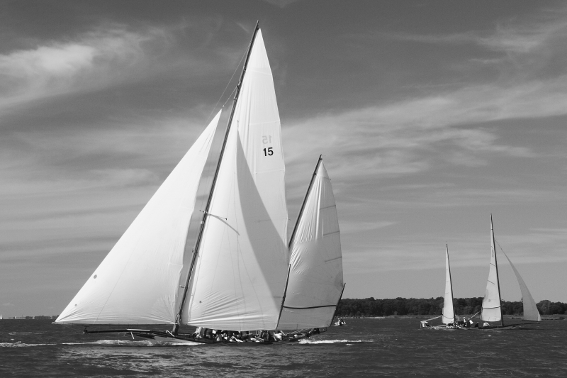 Chesapeake Bay Log Sailing