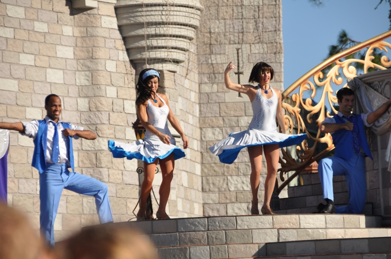 Cinderella's Castle At Magic Kingdom Performers