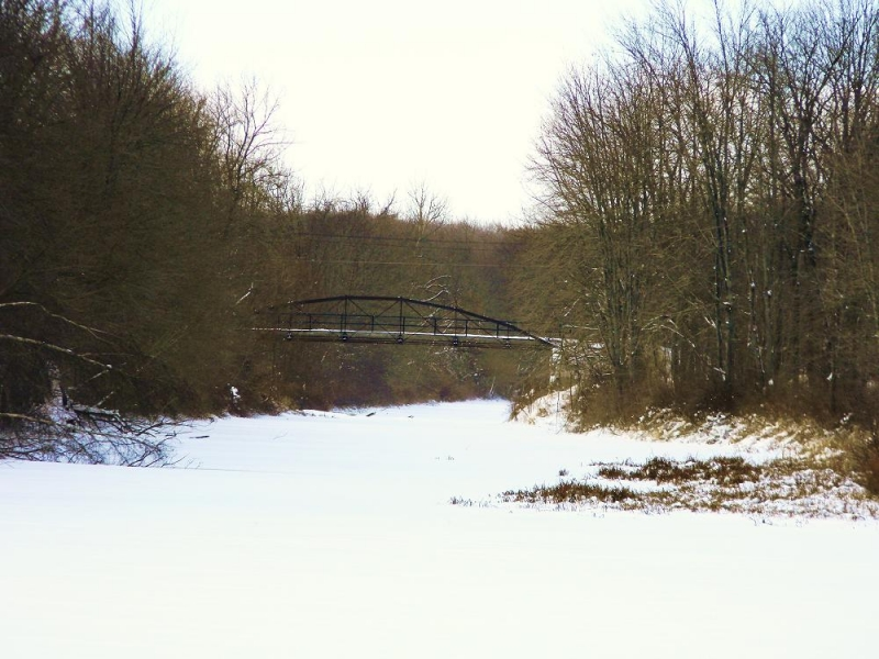 Clifton Park In Winter