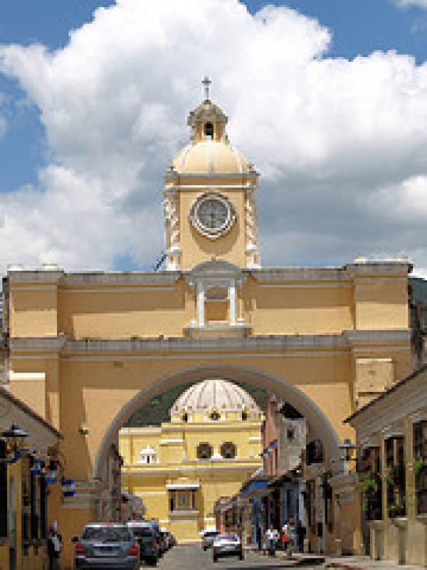 Clock Tower Arch