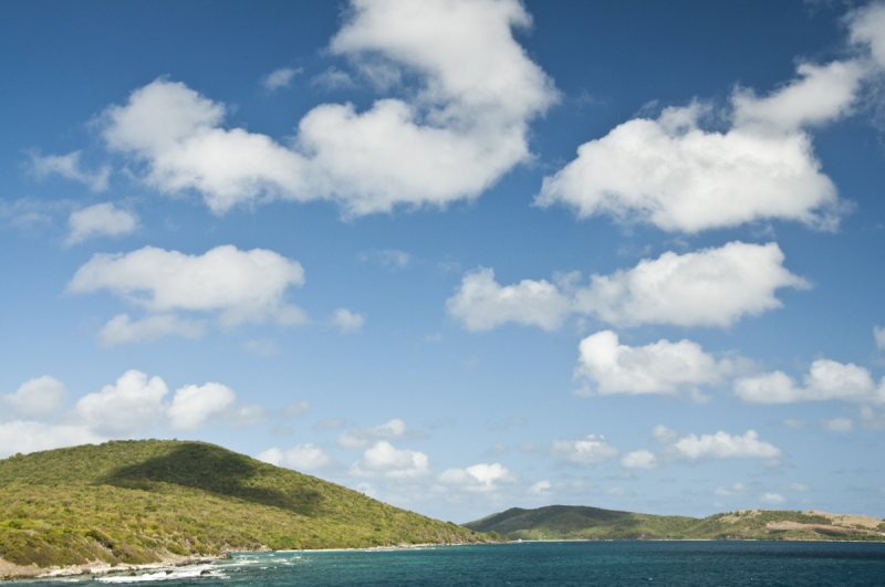 Cloud Shadows Near Culebra Island