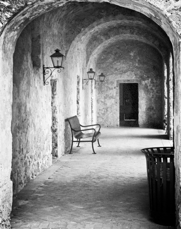 Corridor View, San Jose Mission