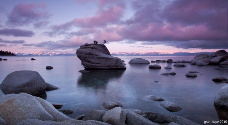 Dawn At Bonsai Rock