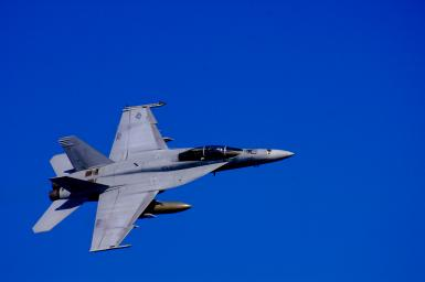 F18 Flyby