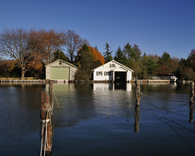 Fall In Babylon Village – Boathouse