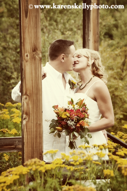 First Kiss After Th Ceremony