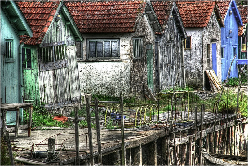 Fishing Huts