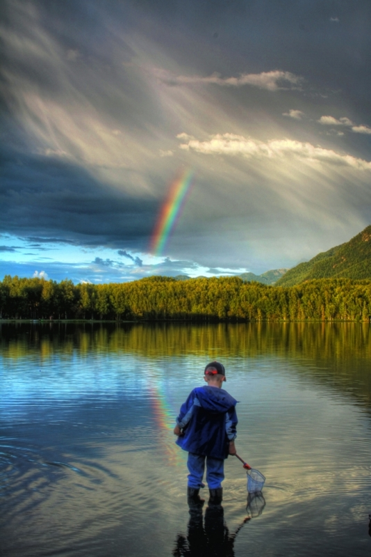 Fishing For Rainbows
