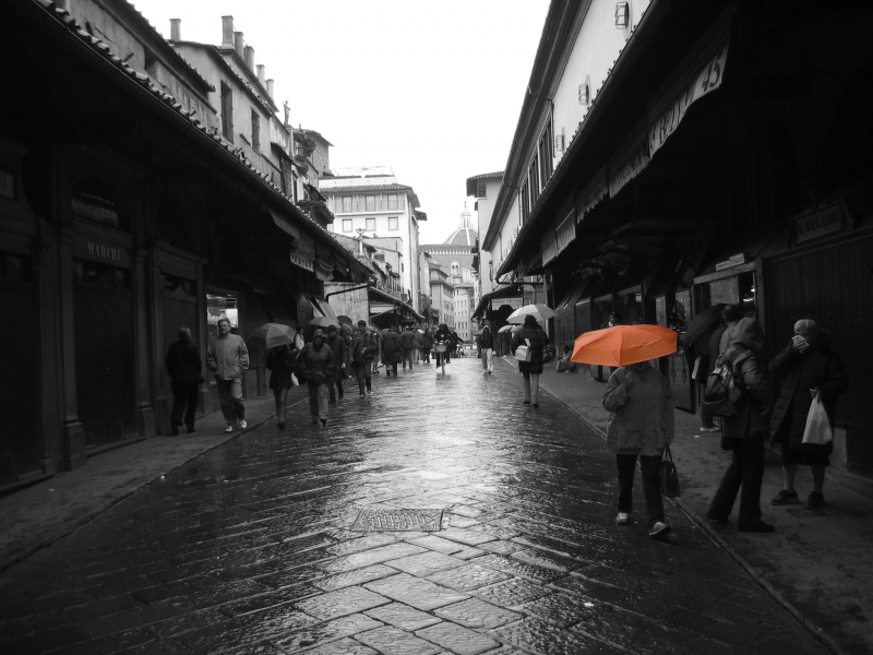 Florence Red Umbrella