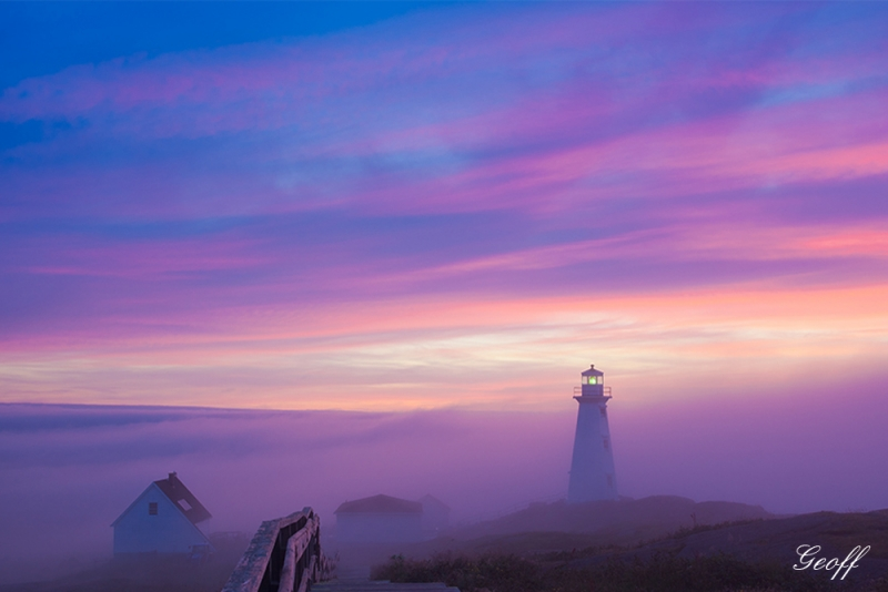 Fogged In At Cape Spear