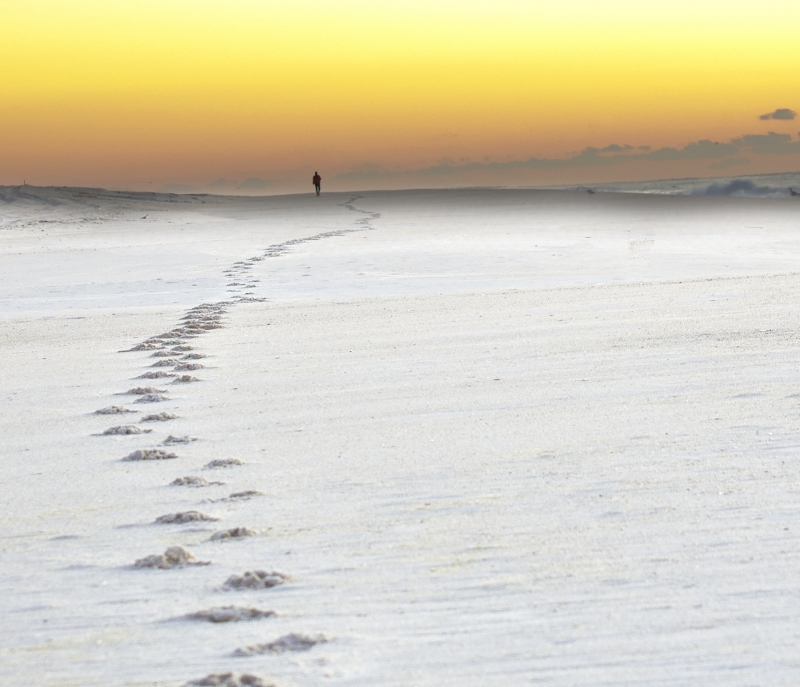Footsteps To Sunrise