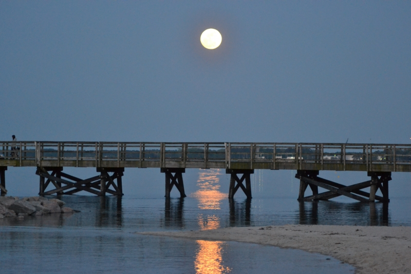 Full Moon Over Yorktown