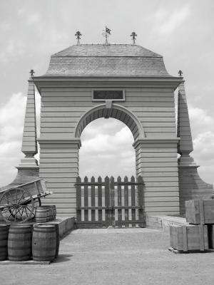 Gate At The Fortress