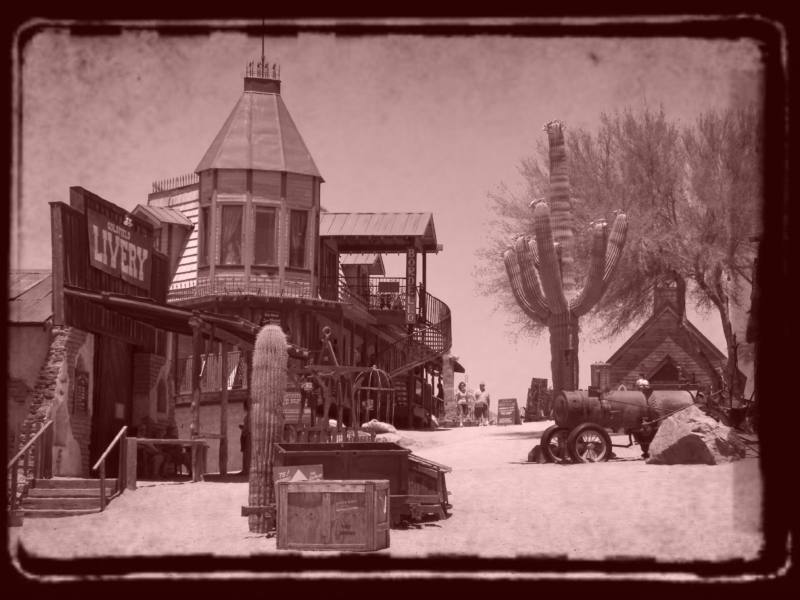 Goldfield Ghost Town Bordello