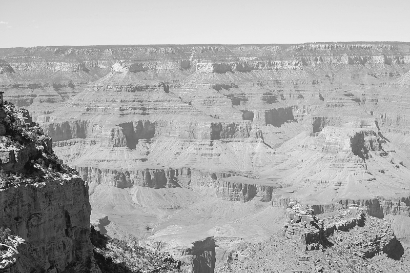 Grest View Over The Rim Of The Grand Canyon