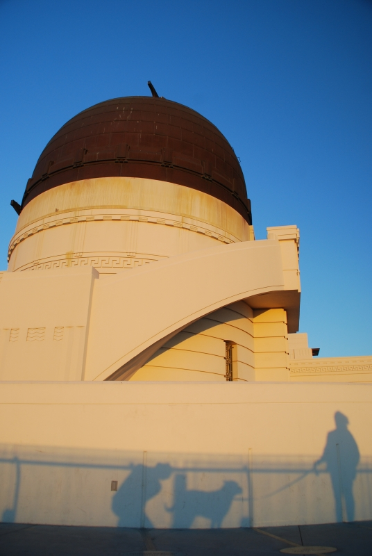 Griffith Observatory Shadows