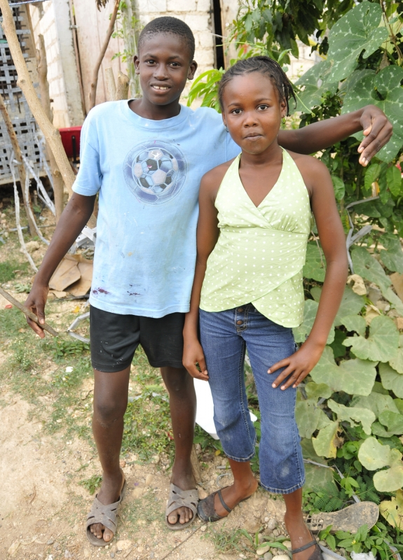 Haitian Boy And Girl